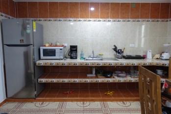Airbnb apartment kitchen