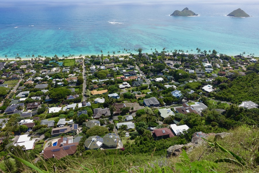 Lanikai Pillbox Hike - best hikes on Oahu, Hawaii