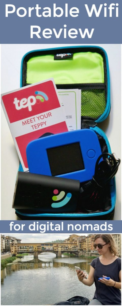 Review of the Teppy portable wifi device with digital nomads and long-term travelers in mind. What is TEP Wireless? Should you purchase or rent mobile wifi?