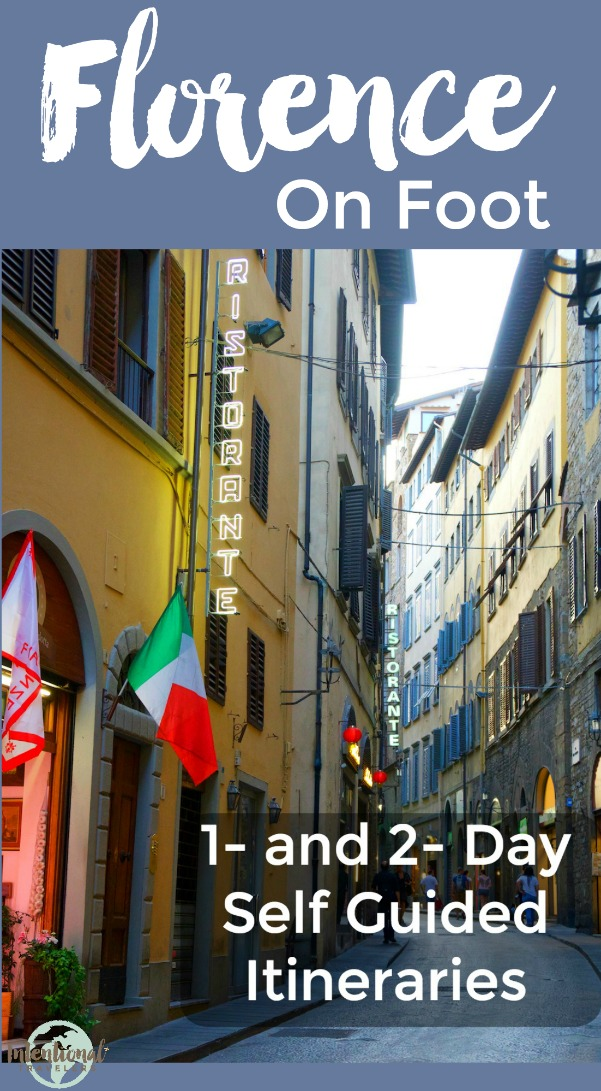 Free Self Guided Walking Tour Of Florence Italy One Or Two