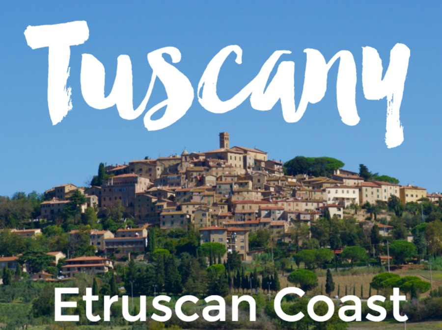 What to see, do, eat, where to stay guide to Tuscany's Etruscan Coast - free Tuscany map for driving itineraries and bike trips | Intentional Travelers