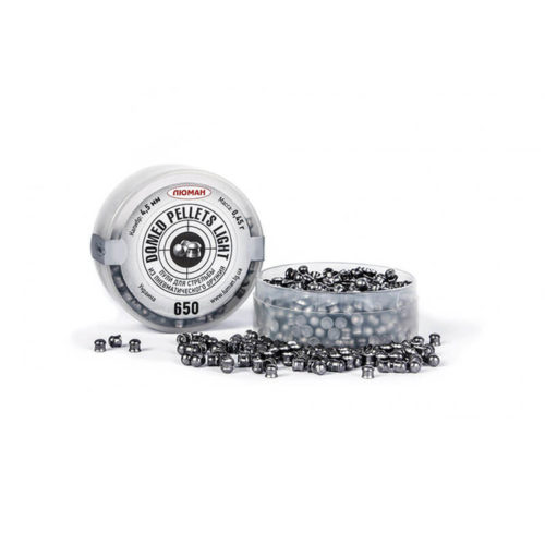 Domed Light Pellets, 0,45