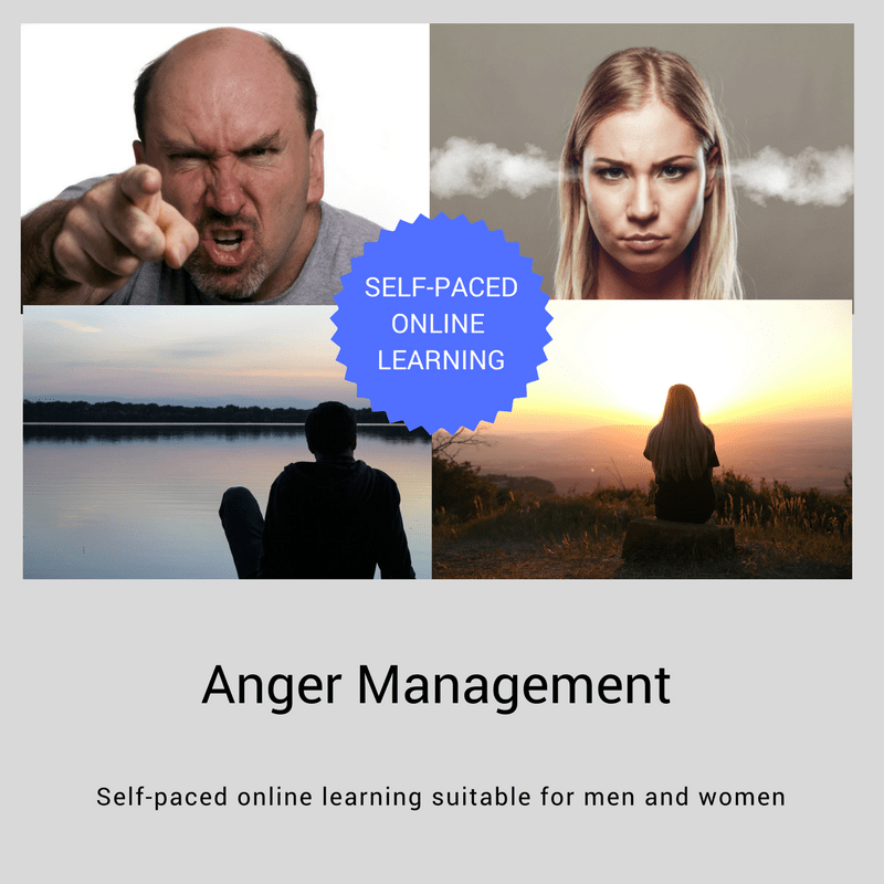 Self-paced online Anger Management course