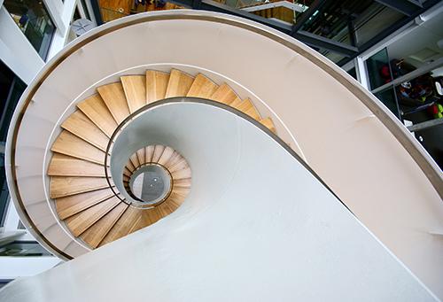 Informatics Forum staircase