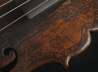 Violin without sides