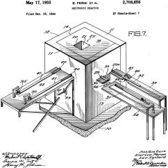 Squash Court Diagram Spatial Of Fast Food The Atomic Age S Beginnings On A In Chicago Wttw Drawing Nuclear Reactor Based Pile 1 From 1944 Patent Application
