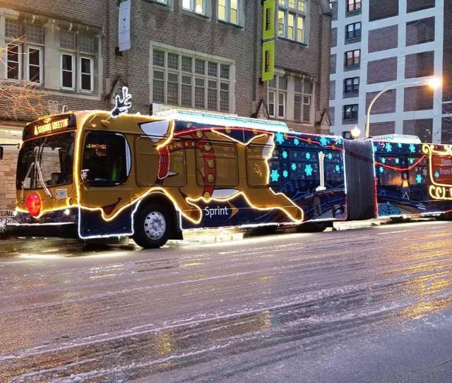 The Cta Holiday Bus Photo Cta
