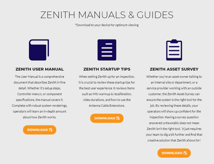 Zenith Manuals and Guides