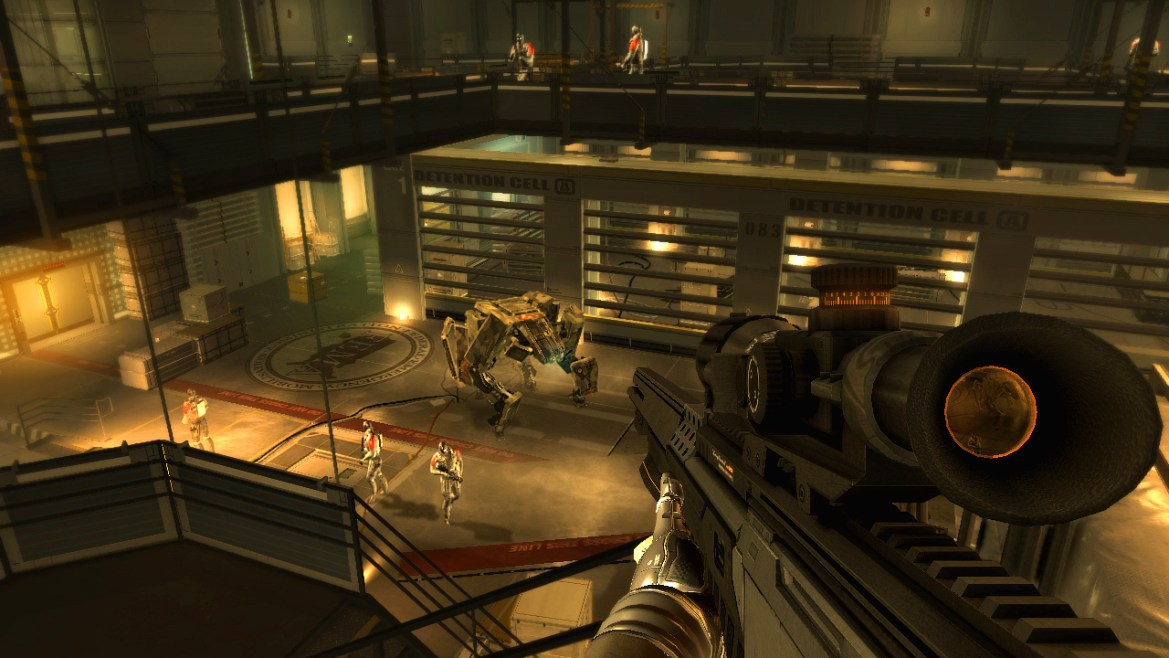 Image result for deus ex human revolution gameplay