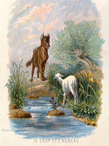 Etude d'une fable de La Fontaine : « Le Loup et l'Agneau