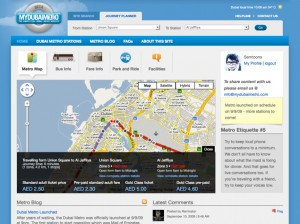 mydubaimetro-homepage