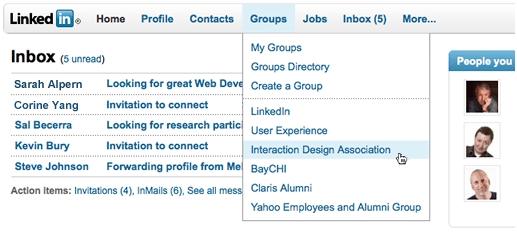 LinkedIn_new_design_navigation