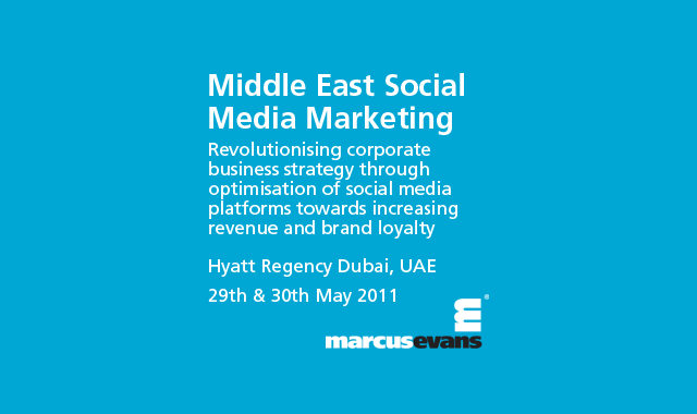 Dont forget the Middle East Social Media Marketing ...