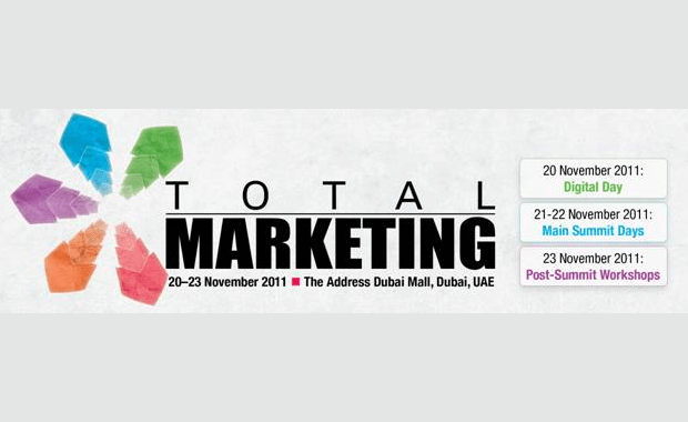 Total Marketing Summit 2011 banner