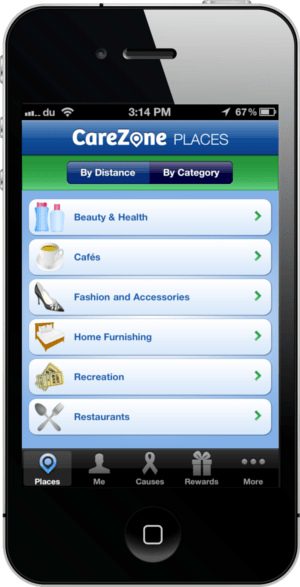 Carezone Screenshot-1