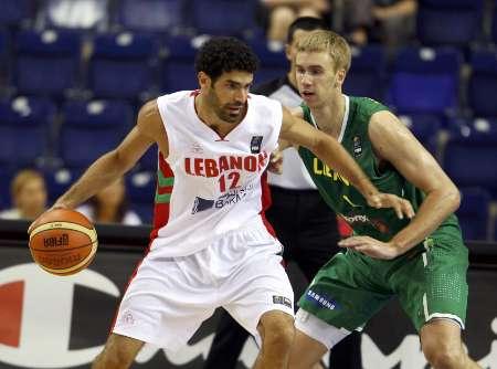 Ali Fakhreddine representing Lebanon
