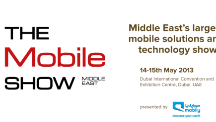 The mobile show middle east 2013