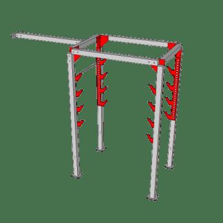 NW-OSL-DBL6-0610@Double_Salmon_ladder_with_Katana_Frame@12.667×10.333×4.667