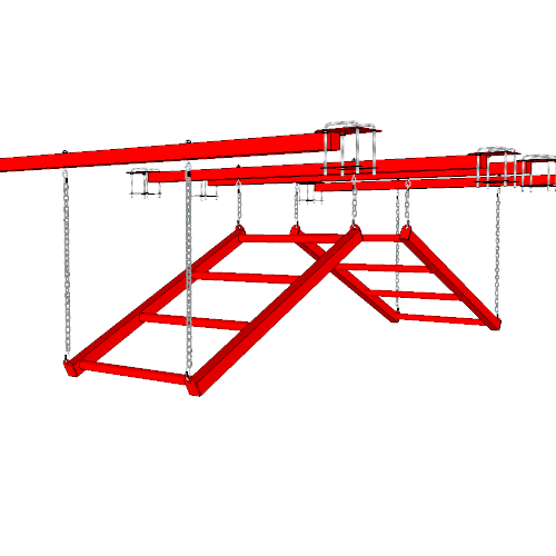 Ninja Training Sports Obstacle - The Devil's Ladder