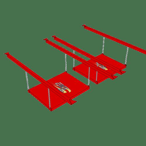 Ninja Training Sport Obstacle - The Unstable Bridge