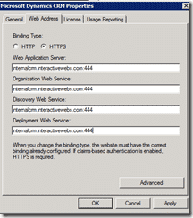 Microsoft CRM 2011 How to Configure IFD Hosted Setup