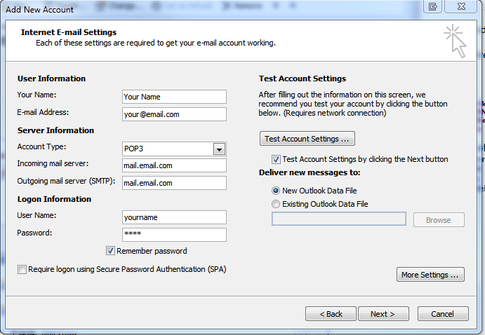 SMTP Authentication–I Can Only Send Email to My Domain - Interactive