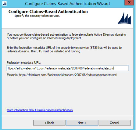 CRM 2015 Claims Based Authentication