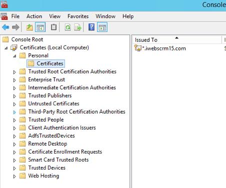 How to Set Up Microsoft CRM 2016 IFD on Windows 2012 R2 Server