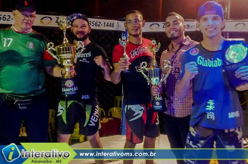 Paranaibenses são destaque em Campeonato de MMA