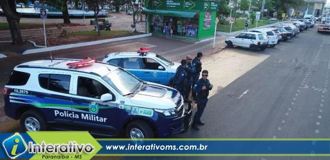 PM intensifica trabalho em locais com alto número de roubos em Paranaíba