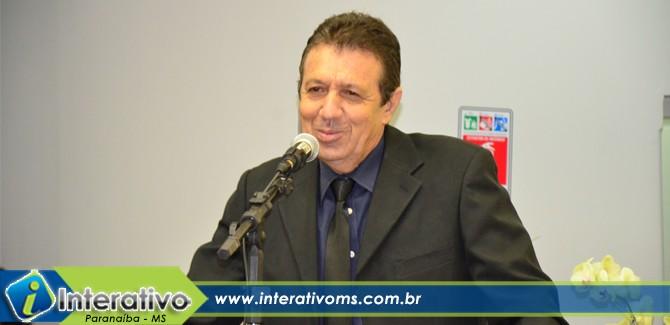 Nelo é reeleito presidente da Câmara de Paranaíba