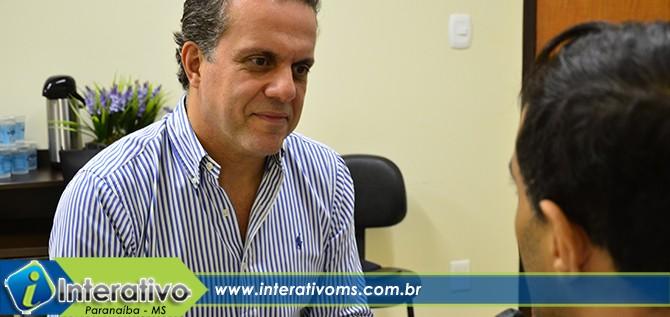 Presidente da Cassems visita Paranaíba