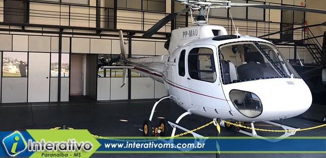 Helicóptero do PCC tinha como destino Paranaíba