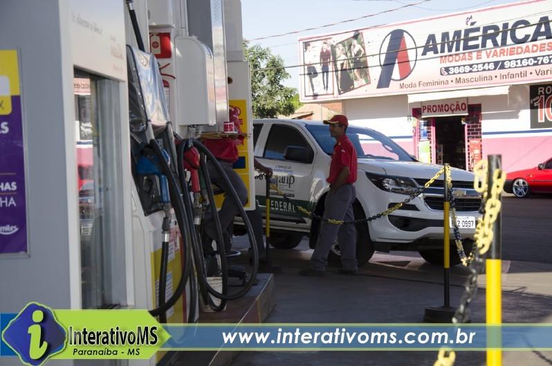 Prefeitura de Paranaíba para serviços por falta de combustível