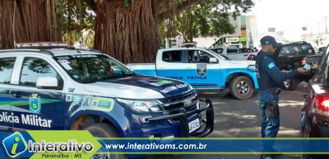 Paranaíba registra diminuição em índice de crimes