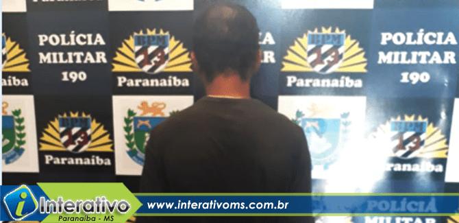 População detém homem após tentativa de furto no centro de Paranaíba