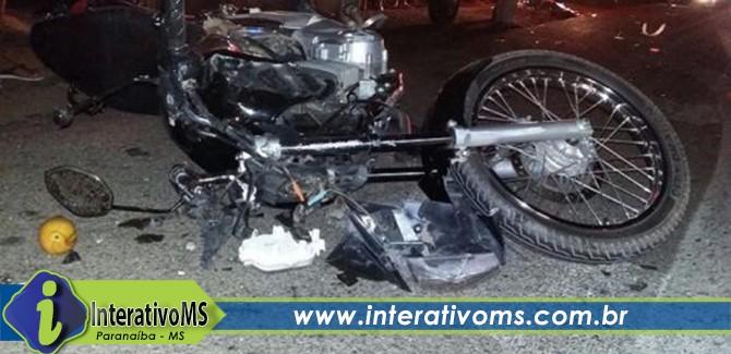 Acidente com três veículos tira a vida de motociclista na BR-158