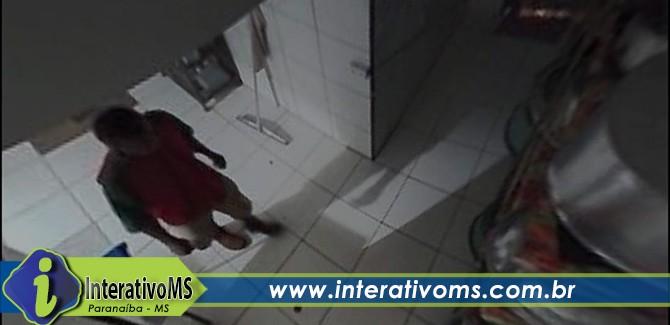 Homem é preso em flagrante ao invadir escola em Paranaíba