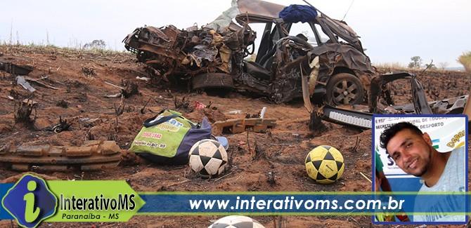 Paranaíbense morre em acidente entre Cassilândia e Chapadão