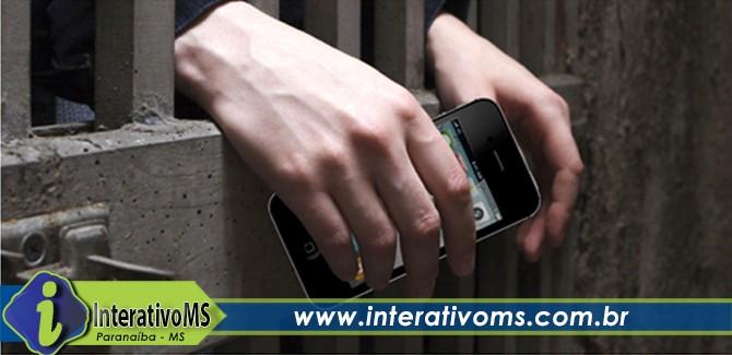 Polícia encontra celular com presa em Paranaíba