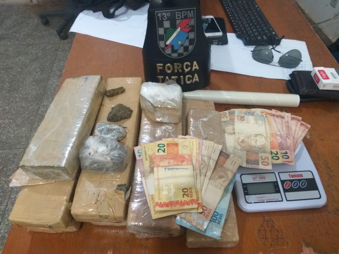 Denúncia anônima leva a prisão de três por tráfico em Paranaíba