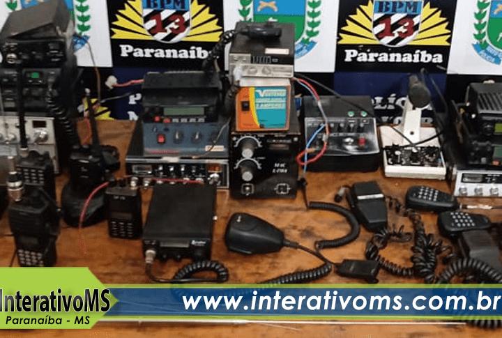 Ação das policias Militar e Civil prende homem com rádio ilegal em Paranaíba