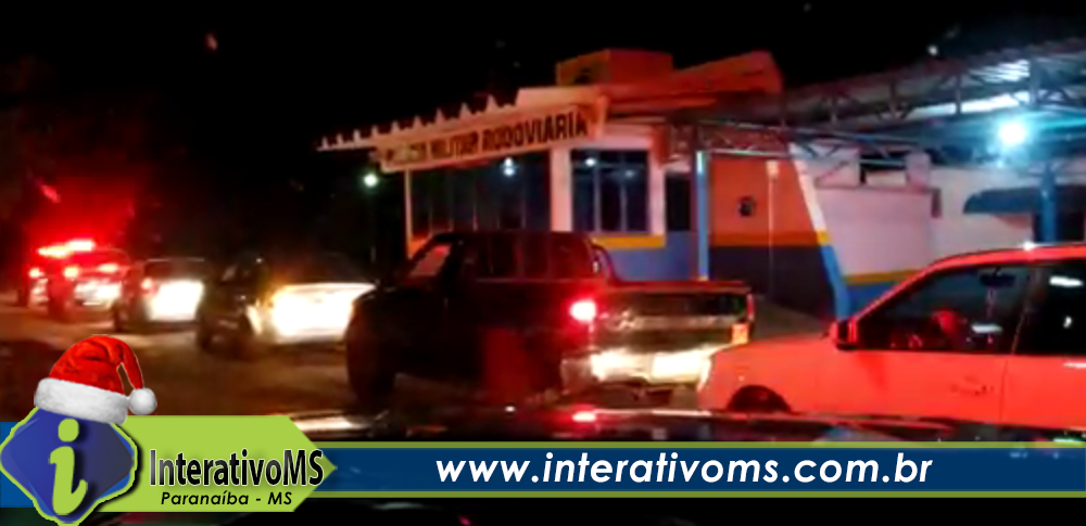 PM de Paranaíba realiza escolta a carro de sargento curado de Covid-19