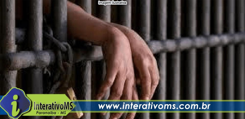 PM cumpre mandado de prisão no centro de Paranaíba