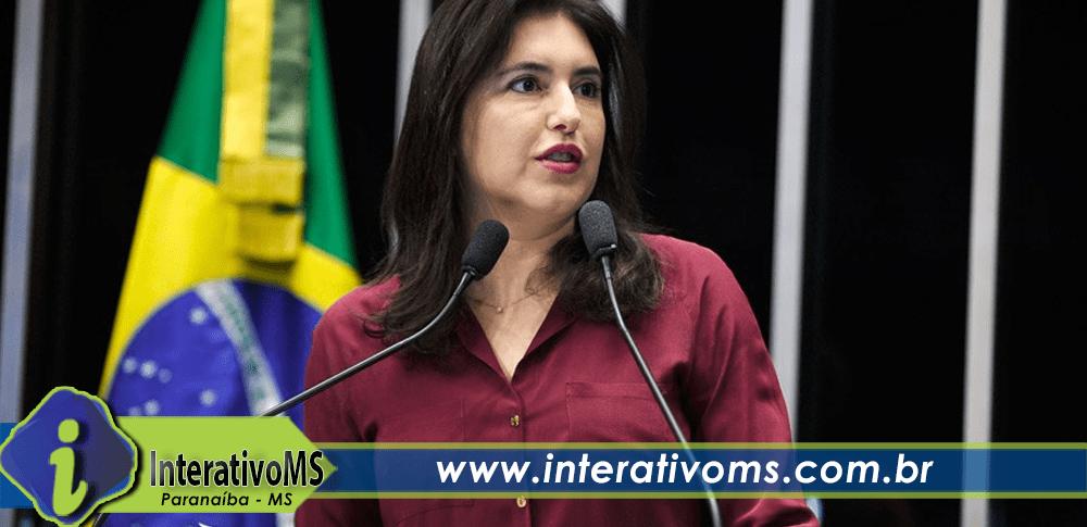 Disputa afunila e Simone tem apenas um adversário na disputa interna do MDB pelo Senado