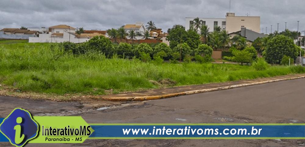 Donos tem 15 dias para limparem terrenos baldios em Paranaíba
