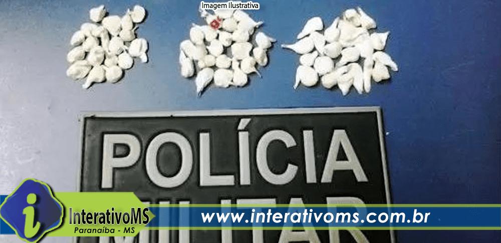 PM prende homem de 53 anos por tráfico em Paranaíba