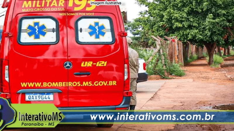 Motociclista fica ferido após ser fechado por carro no Santo Antônio