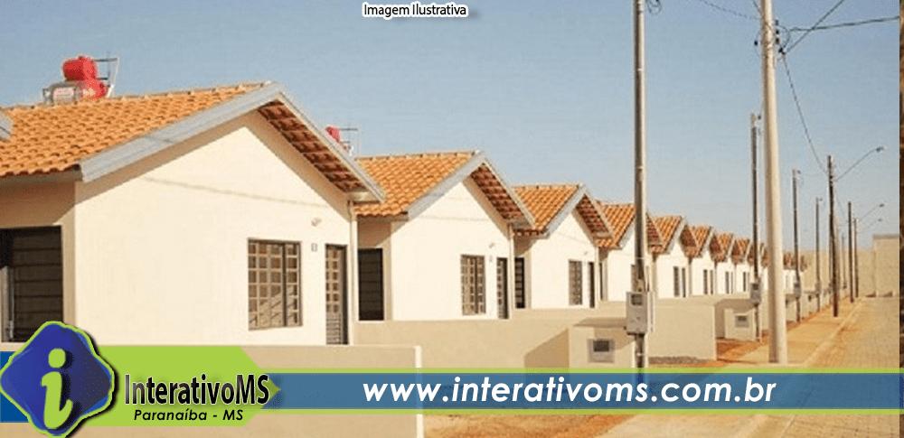 Paranaíba ganha conjunto habitacional com 30 casas