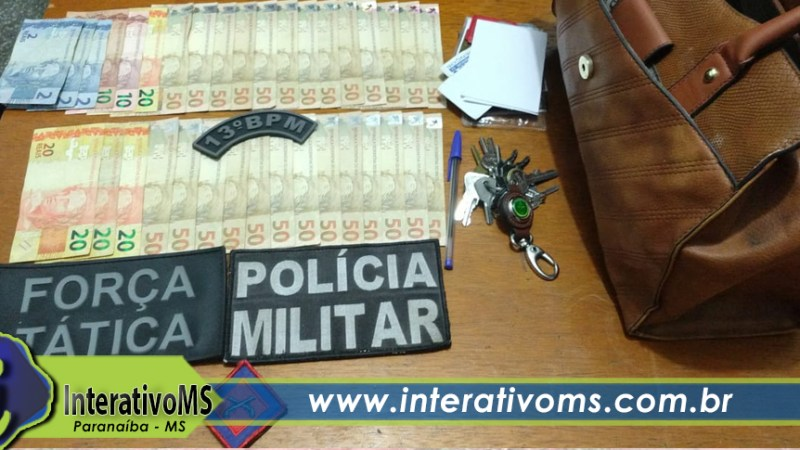 Homem é preso pela PM por assalto na rodoviária de Paranaíba
